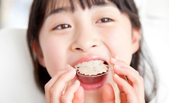 顎顔面口腔育成治療(バイオブロック療法)